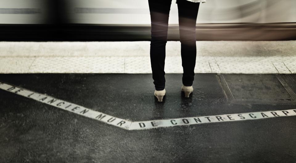 mise en accessibilité des quais de métro RATP