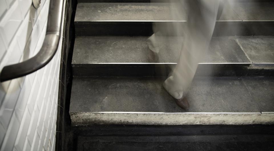 escaliers RATP accesibilité